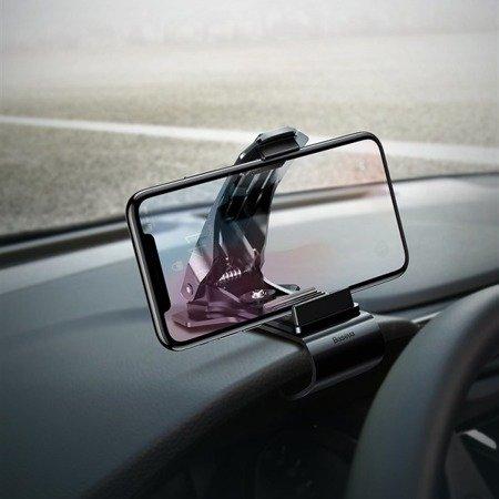 Baseus uchwyt samochodowy na deske z klipsem GPS SUDZ-01