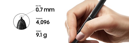 Długopis / Rysik S Pen do SAMSUNG GALAXY TAB S4 szary