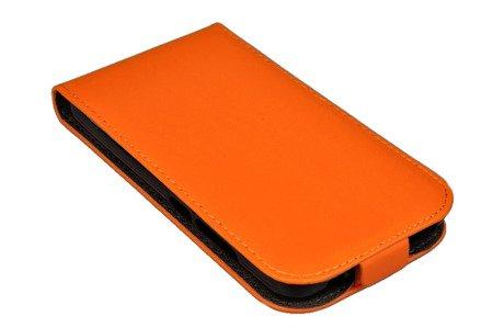 ETUI KABURA FLEXI SLIM do HUAWEI Y5 Y560 pomarańczowy