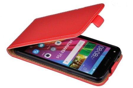 ETUI KABURA FLEXI do HUAWEI Y5II / Y6II Compact czerwony