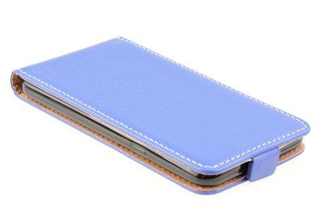 ETUI KABURA FLEXI do LG Q6 niebieski