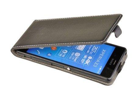 ETUI KABURA FLEXI do Sony Xperia Z3 L55 czarny