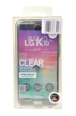 ETUI NAKŁADKA MERCURY GOOSPERY CLEAR CASE do LG K10 2017 przezroczysty