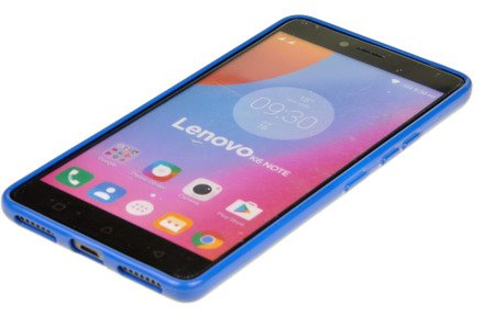 ETUI NAKŁADKA MERCURY GOOSPERY JELLY CASE do LENOVO K6 NOTE niebieski