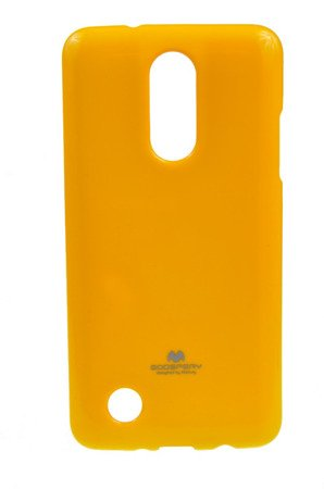 ETUI NAKŁADKA MERCURY GOOSPERY JELLY CASE do LG K8 2017 żółty