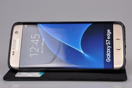 ETUI SMART W1 do SAMSUNG GALAXY S7 Edge G935 niebieski