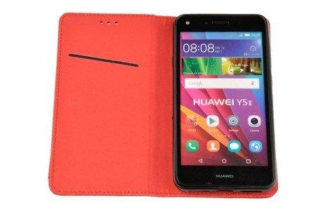 ETUI SMART W2 do HUAWEI Y6II Compact / Y5II czerwony