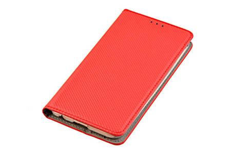 ETUI SMART W2 do LG K10 2017 czerwony