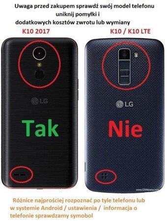 ETUI SMART W2 do LG K10 2017 zielony