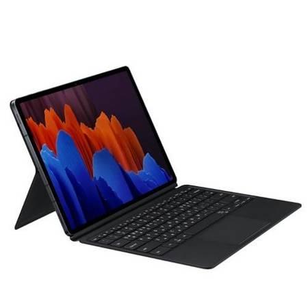 Etui Book Cover Keyboard do SAMSUNG GALAXY TAB S7+ / S7 Plus czarny