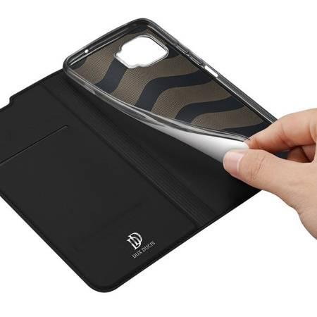 Etui Dux ducis kabura etui pokrowiec elegancki z klapką do Motorola Moto G 5G Plus + czarny