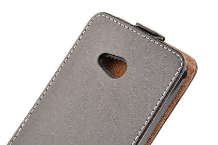 Etui Kabura Flexi Rubber do MICROSOFT Lumia 640 / 640 Dual Sim czarny