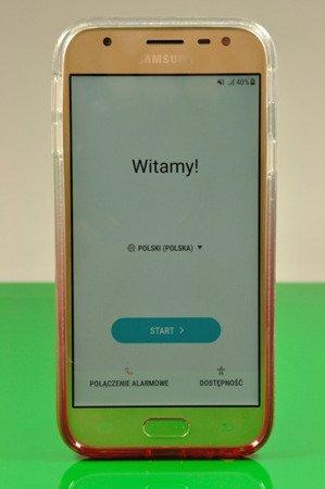 Etui Kaku Ombre do SAMSUNG Galaxy J5 2017 J530 różowy