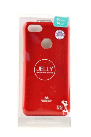 Etui Mercury Goosper Jelly Case do HUAWEI P9 Lite Mini czerwony