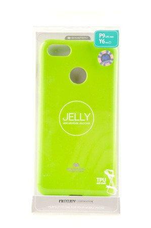 Etui Mercury Goosper Jelly Case do HUAWEI P9 Lite Mini limonka