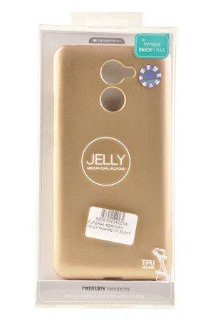 Etui Mercury Goosper Jelly Case do HUAWEI Y7 2017 złoty