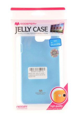 Etui Mercury Goosper Jelly Case do SAMSUNG GALAXY A3 2016 jasny niebieski