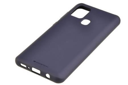 Etui Mercury Goospery Soft Feeling do Samsung Galaxy A21s granatowy