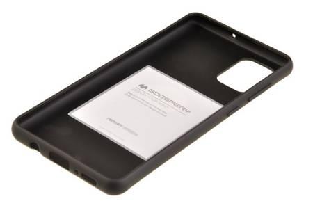 Etui Mercury Goospery Soft Feeling do Samsung Galaxy A71 czarny