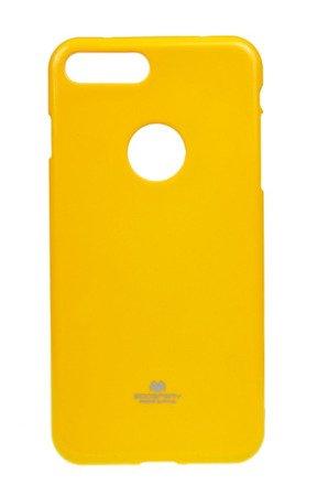 Etui Mercury Jelly Case do APPLE iPhone 7 Plus / 8 Plus żółty
