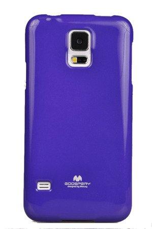 Etui Nakładka Mercury Goospery Jelly Case do SAMSUNG GALAXY S5 G900 / S5 NEO G903 fiolet
