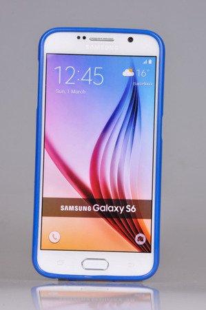 Etui Nakładka Mercury Goospery Jelly Case do SAMSUNG GALAXY S6 G920 niebieski