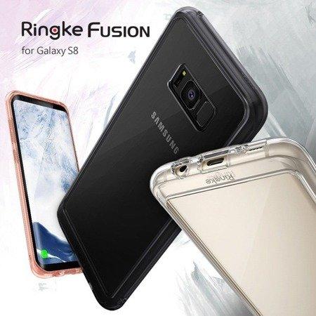 Etui Nakładka Ringke Fusion do SAMSUNG GALAXY S8 / G950 przezroczysty