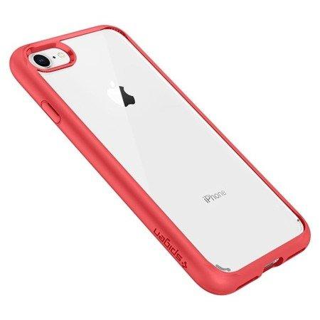 Etui Nakładka Spigen Ultra Hybrid 2 do APPLE IPHONE 7 /  IPHONE 8  czerwony