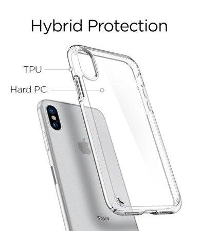 Etui Nakładka Spigen Ultra Hybrid do IPHONE X/10 przezroczysty