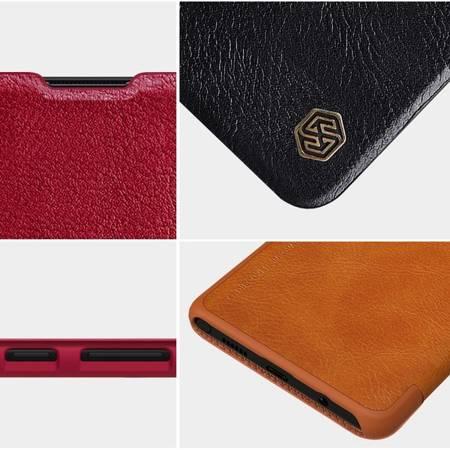 Etui Nillkin Qin leather case do Samsung Galaxy Note 10 Lite czarny