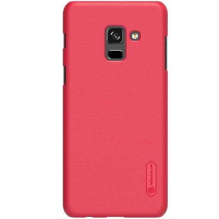 Etui Nillkin Super Frosted Shield do SAMSUNG GALAXY A8 2018 A530 czerwony