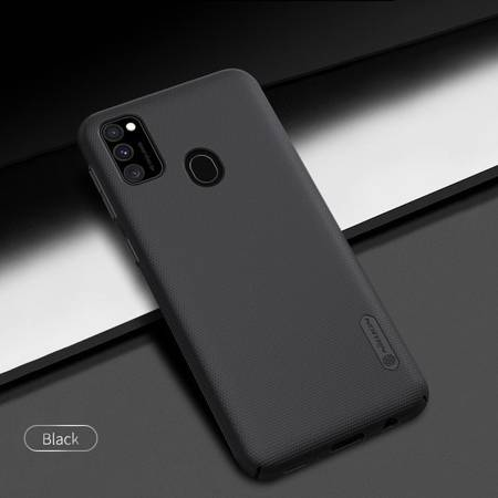 Etui Nillkin Super Frosted Shield do Samsung Galaxy M21 / M30s czarny