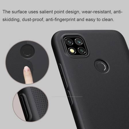 Etui Nillkin Super Frosted Shield do Xiaomi Redmi 9C czarny