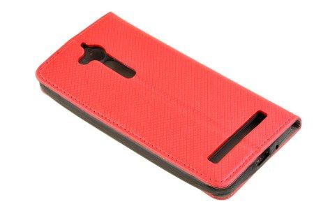 Etui Smart W1 do ASUS ZENFONE GO ZB500KG czerwony