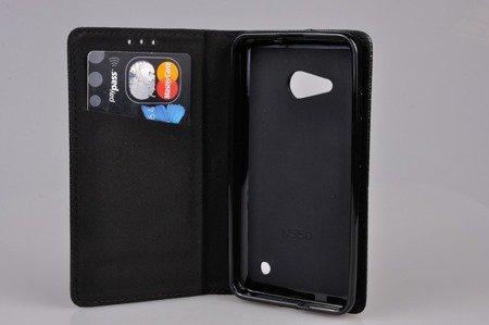 Etui Smart W1 do MICROSOFT Lumia 550 czarny
