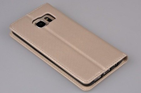 Etui Smart W1 do SAMSUNG Galaxy S7 Edge G935 złoty