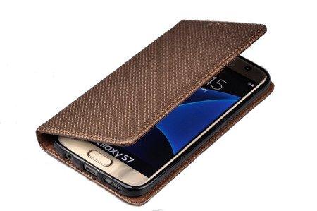 Etui Smart W1 do SAMSUNG Galaxy S7 G930 brązowy