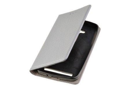 Etui Smart W4 do ASUS ZENFONE GO ZB500KL szary