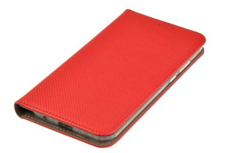 Etui Smart do Motorola Moto E6s czerwony