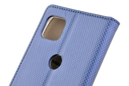 Etui Smart do Motorola Moto G 5G niebieski