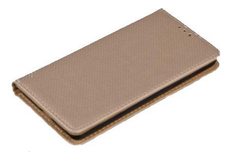 Etui Smart do SONY Xperia E5 złoty