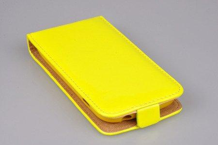 Etui kabura Flexi Fresh do SAMSUNG GALAXY TREND S7560 / TREND PLUS S7580 / DUOS S7562 żółty