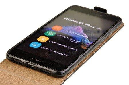 Etui kabura Flexi do Huawei P9 Lite 2017 / P8 Lite 2017 czarny