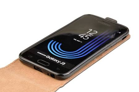 Etui kabura Flexi do Samsung Galaxy J3 2017 czarny