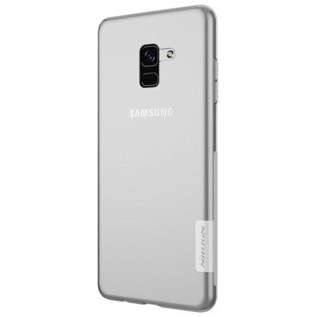 Etui nakładka Nillkin Nature 0,6mm do SAMSUNG GALAXY A8 2018 A530 przezroczysty