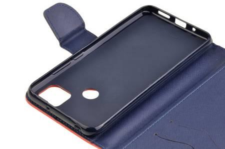 Etui portfel Fancy Case do Xiaomi Redmi 9C czerwony