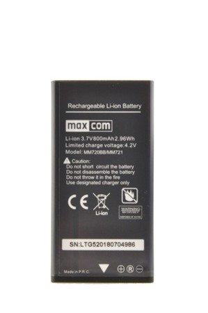 Oryginalna bateria akumulator MAXCOM do MM720 MM720BB MM721