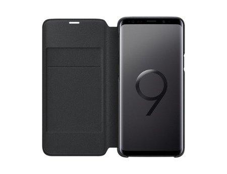 Oryginalne Etui Led View Cover do SAMSUNG Galaxy S9 G960 czarny
