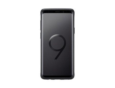 Oryginalne Etui Protective Standing Cover do SAMSUNG Galaxy S9+ / S9 Plus G965 czarny