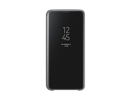 Oryginalne etui Clear View Standing Cover do SAMSUNG GALAXY S9 G960 czarny